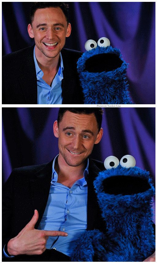 Sesame Street's Cookie Monster assemble at the PBS portion of the TV Critics Press Tour
