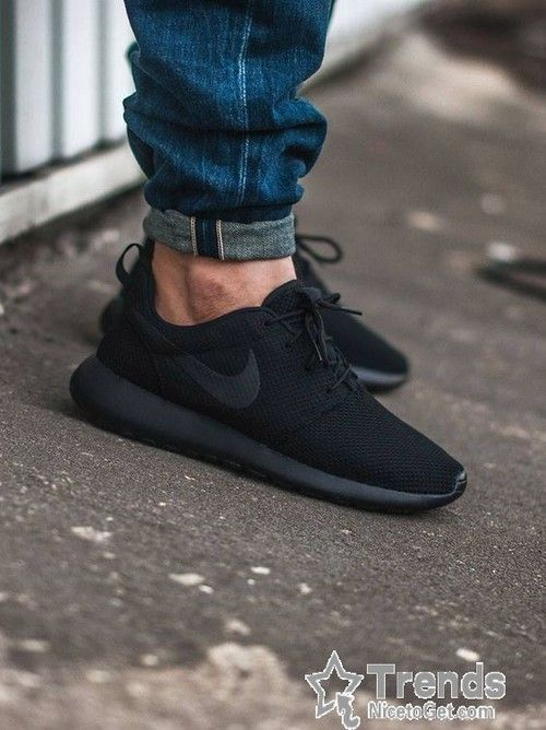Fonética Comprimir Ventana mundial  Nike Roshe Run Mesh All Black Mens Womens Shoes - Roshe Run | Sneakers  fashion, Nike free shoes, Nike shoes women