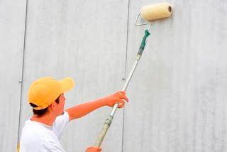 Cara Mengecat Tembok Pakai Roll Dengan Motif Lama Yang Benar Dengan Kuas Harga Cat Minyak Untuk Tembok Cara Mengecat Tembok Eksterior Renovasi Membangun Rumah