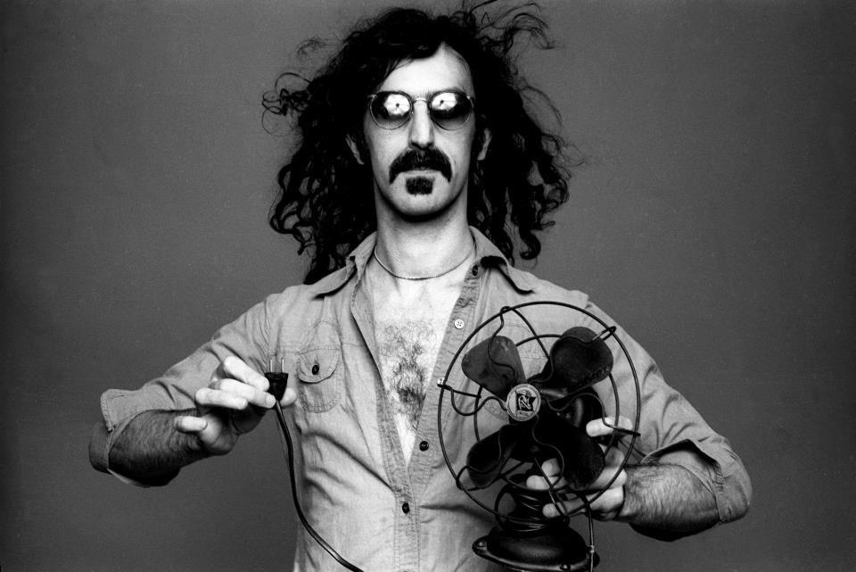 Frank Zappa, 1976.
