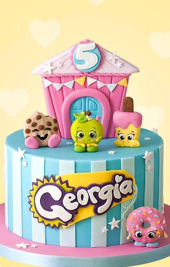 Shopkins Cake | ♥ Cake and Cupcake Inspiration for Kids Birthday ...