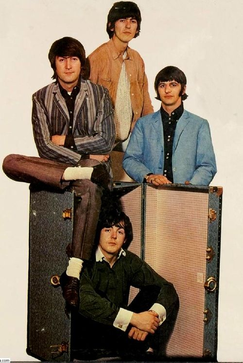 The Beatles 196606 Promo Picture Yesterday And Today Album