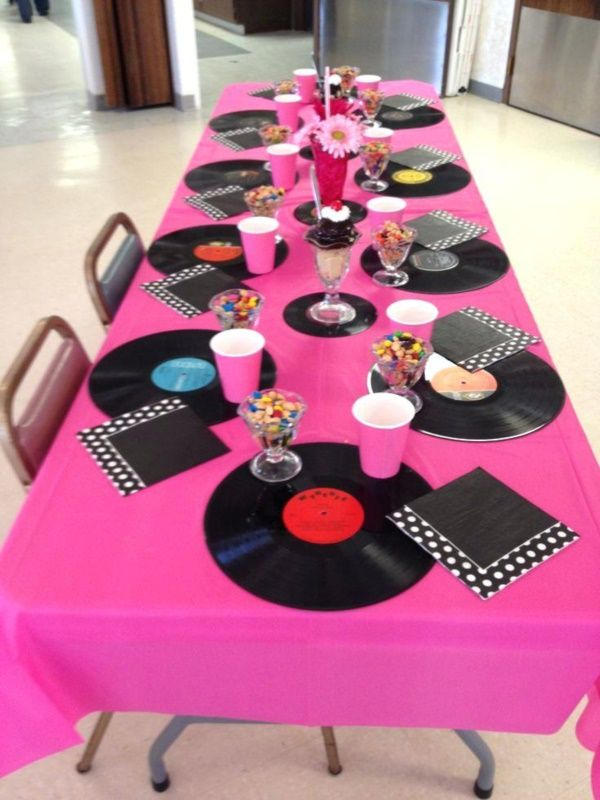 38 Examples of Disco Theme Party Decorations #bestkaraokemachine