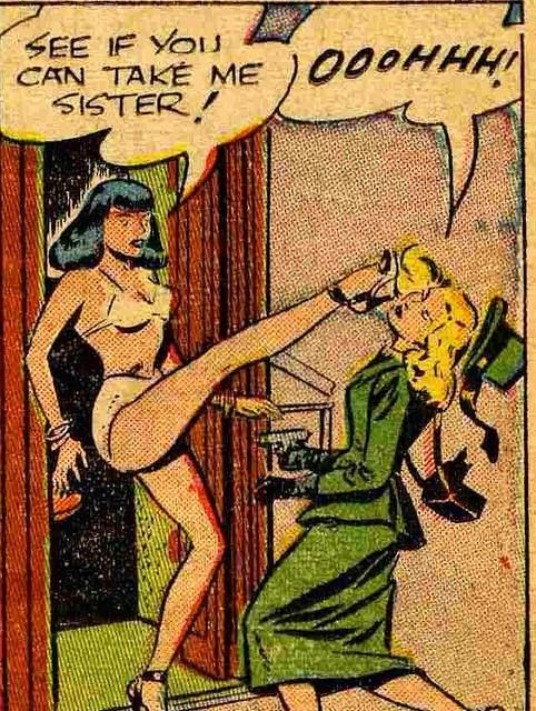Comic Fetish Lesbian