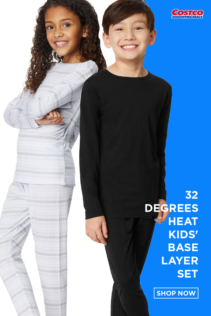 32 DEGREES Kids Heat Base Layer Set