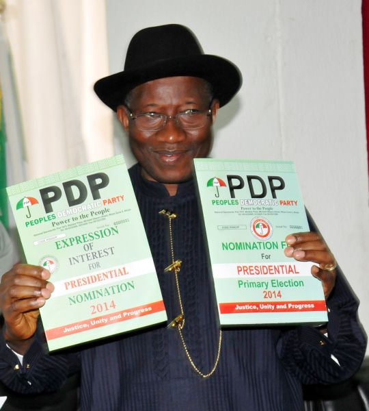 Legendarytalkz: After Adopting Pres. Jonathan as Sole Candidate, P...