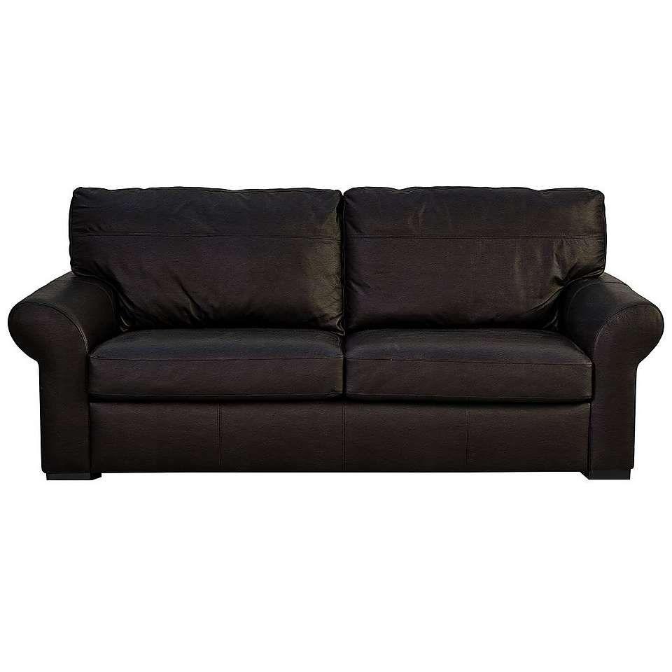 Finchley Madras Chocolate 3 Seater Sofa