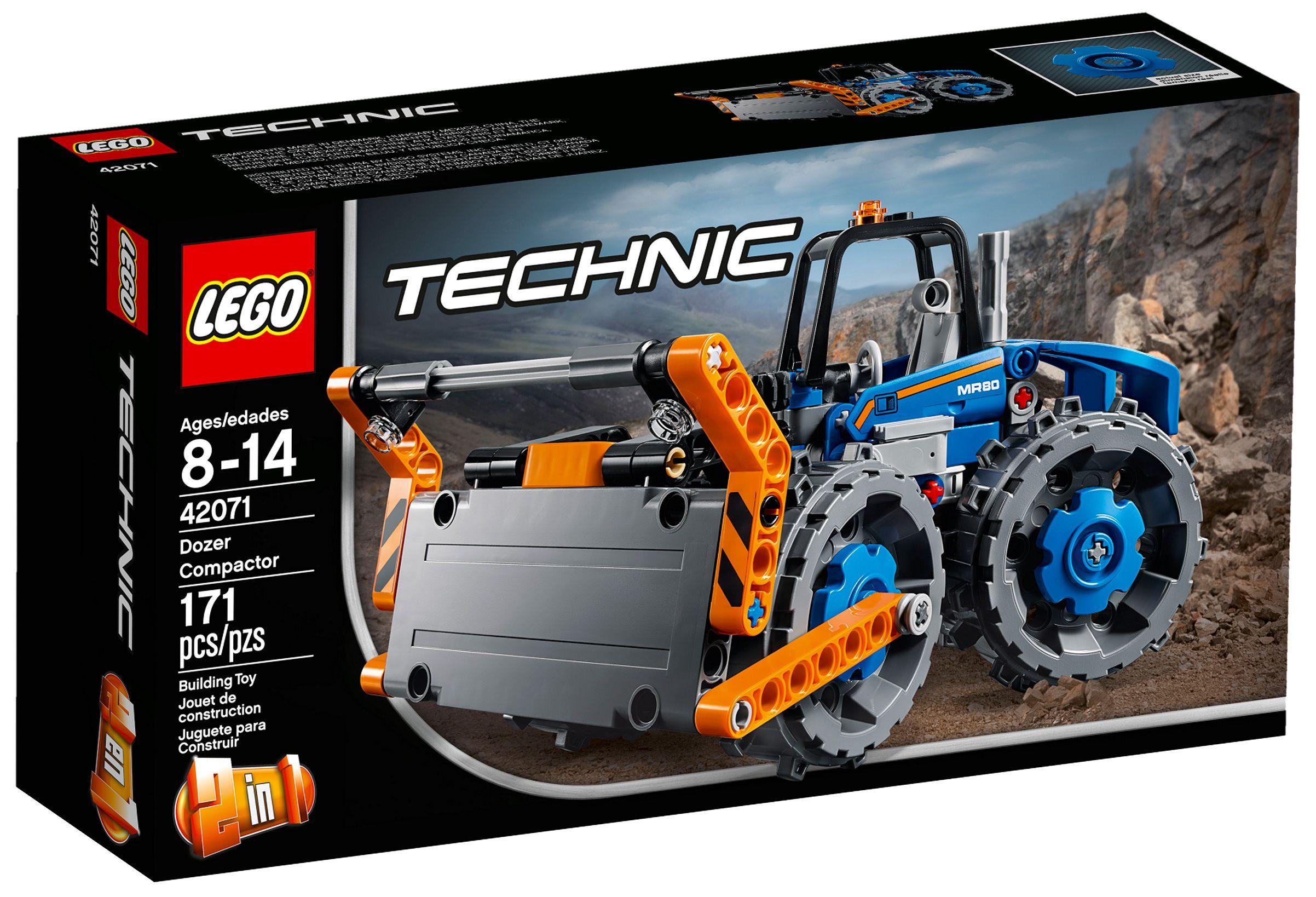 lego technic 42071 pas cher le bulldozer lego technic. Black Bedroom Furniture Sets. Home Design Ideas