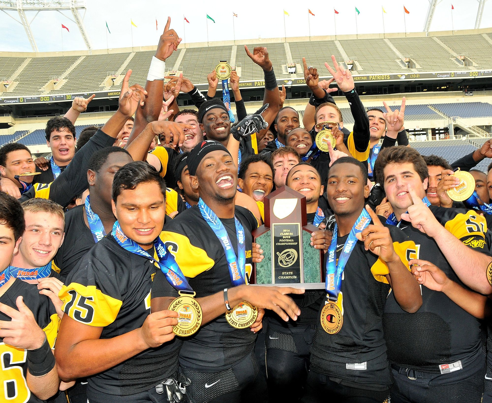 American Heritage Wins Back To Back 5A Florida High
