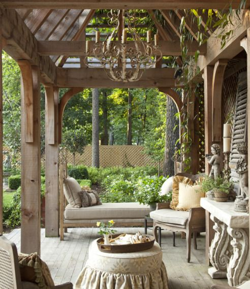 The Perfect Pergola Outdoor Rooms Outdoor Living