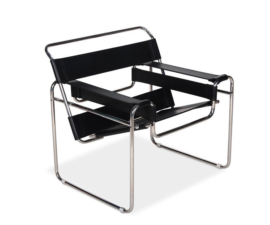 Wassily Chair Par Marcel Breuer Chaise Bois Design Chaise Marcel Breuer