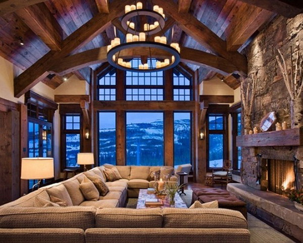 western living room | Someday...When Im a Millionaire | Pinterest