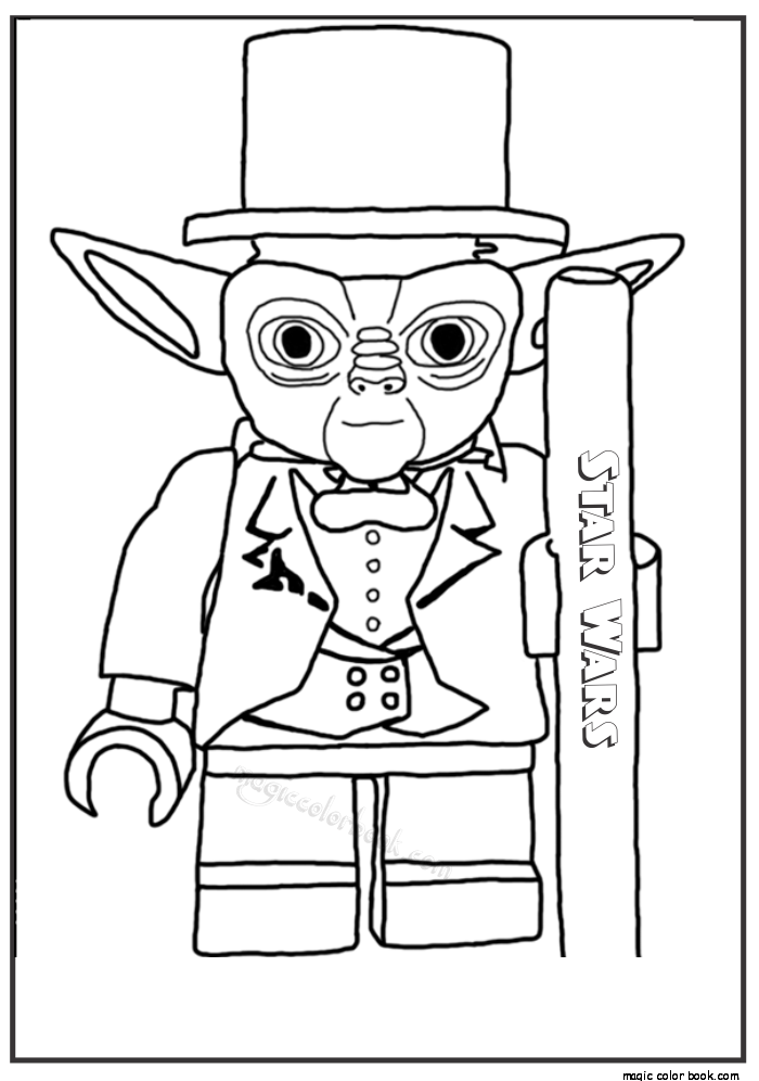 Pin von Magic Color Book auf Star Wars Coloring pages free online ...