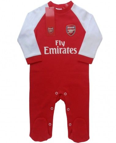 7c9b9d31f Arsenal baby sleepsuit. 0-18m £11.99. New season in stock now ...
