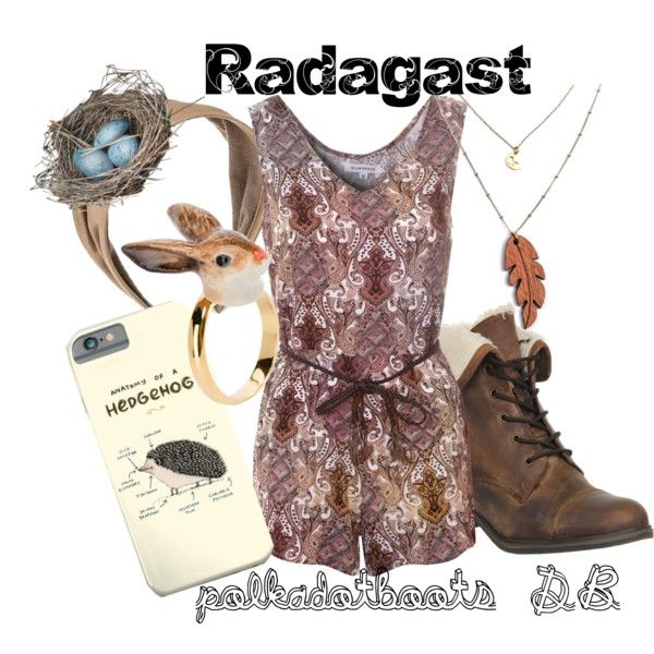 All I want in life is to look like Radagast- but with less bird shit down my face. Ya know? So something like this would be fun for summer. Although I could take these colors and make an outfit more suitable for all the seasons.