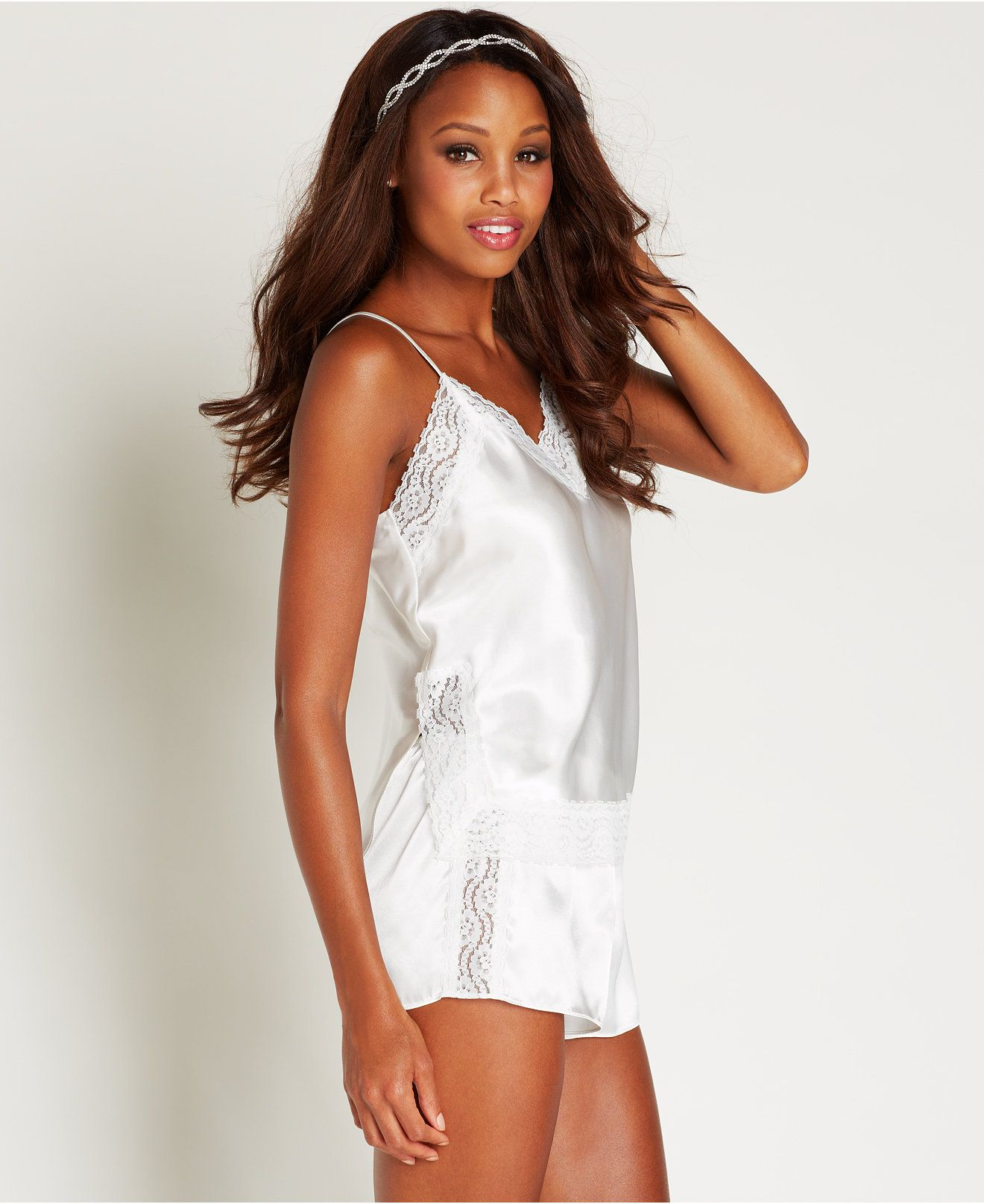a871649637 Flora by Flora Nikrooz Shae Charmeuse Camisole and Tap Shorts Set ...