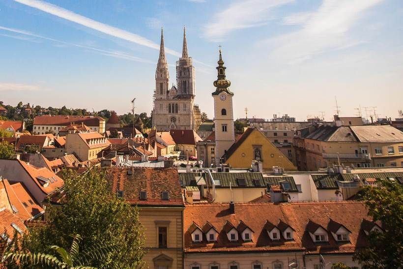 Zagreb Zagreb Barcelona Cathedral Croatia