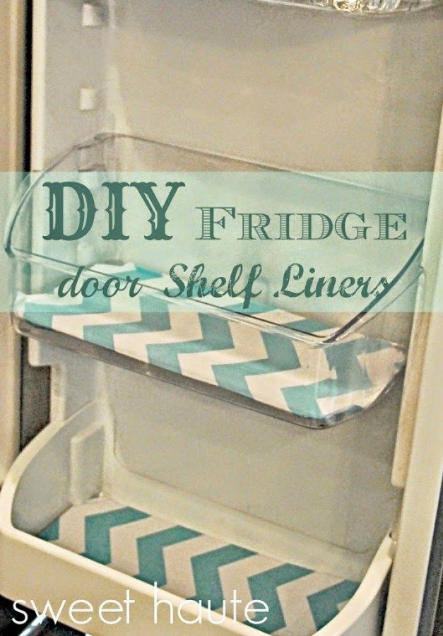 Fridge Shelf Liners Pleasing Diy Fridge Door Shelf Liners Sweethaute  Houseeeee  Pinterest Decorating Design