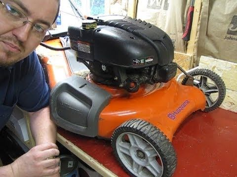 Mechanical Moron My Husqvarna Lawnmower Won T Start Lawn Mower Husqvarna Riding Lawnmower