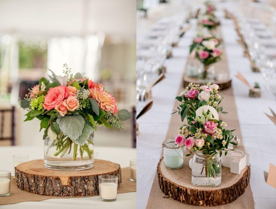 Dekoracje Weselne Z Drewna 4 Propozycje Na Wasze Wesele Wedding Pl Traditional Wedding Decor Wedding Table Wedding Decorations