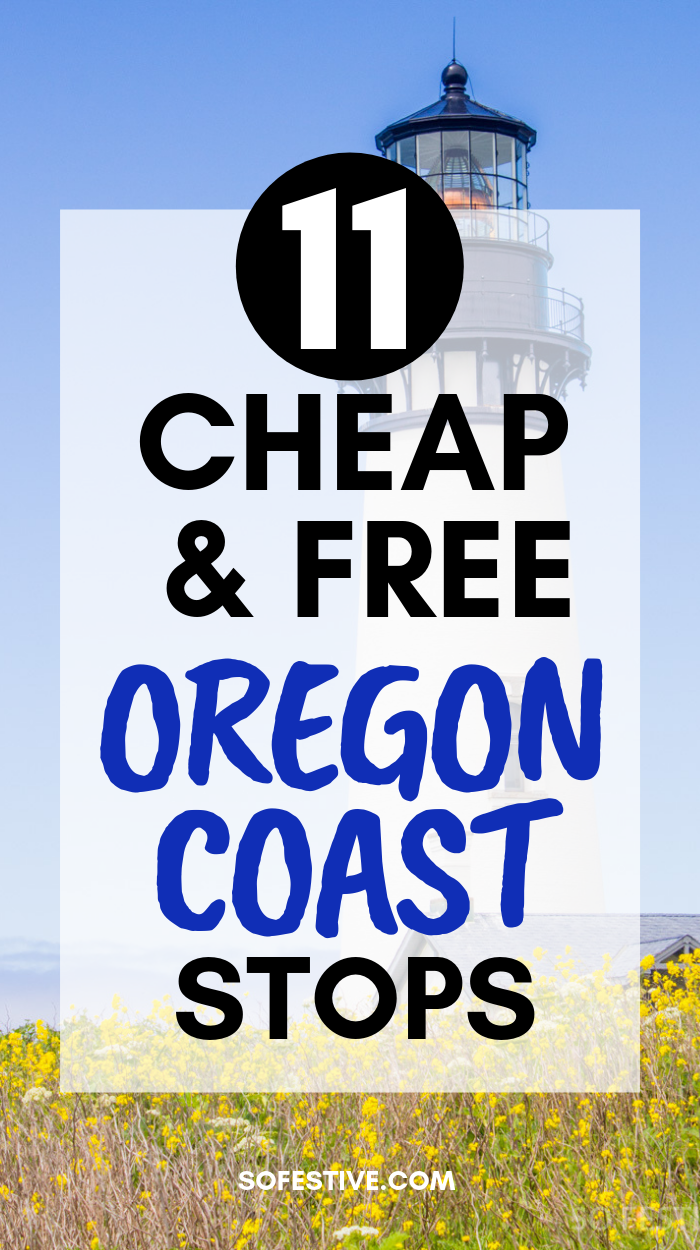 Cheap or Free Oregon Coast Stops to Make #oregoncoast