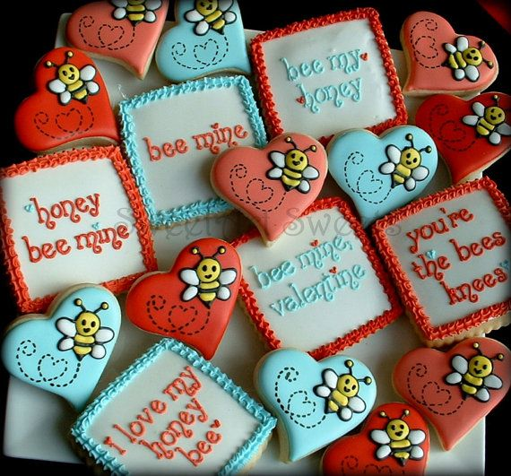 Best 25+ Valentine Cookies Ideas On Pinterest