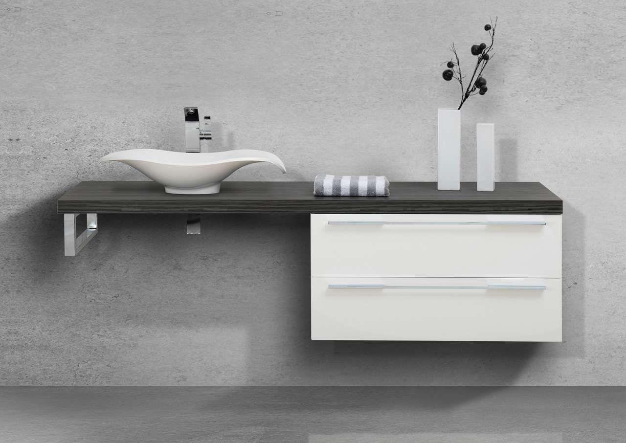Badezimmermöbel Unterschrank ~ Badezimmermöbel set waschtischplatte mit aufsatzwaschtisch
