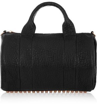9afad5a225f0 Alexander Wang - The Rocco Textured-leather Tote - Black