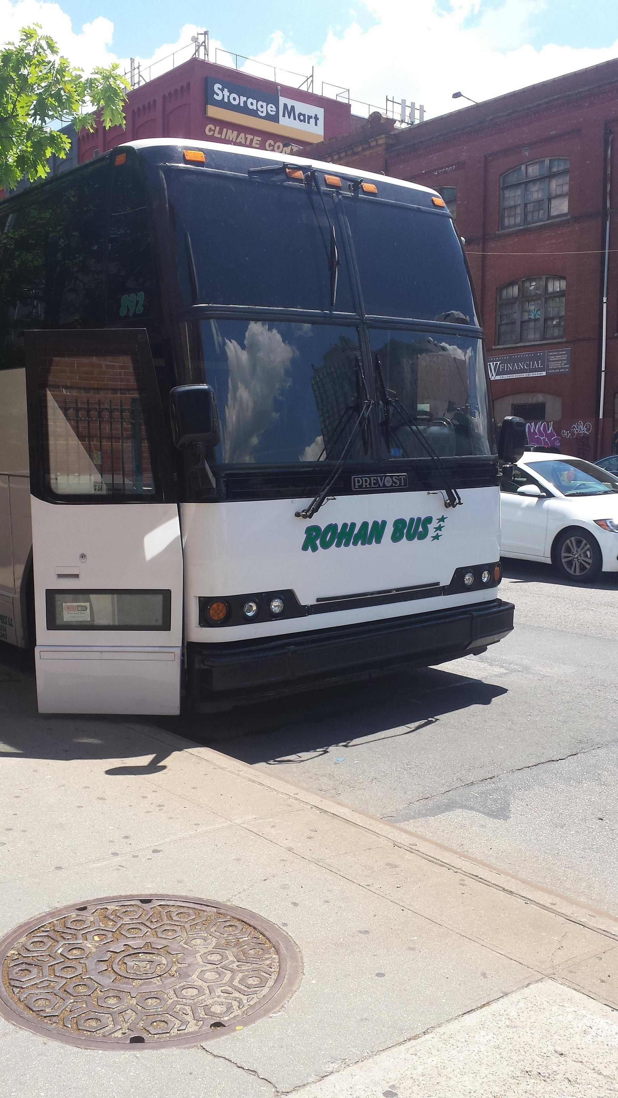 The riders of Rohan now travel coach!