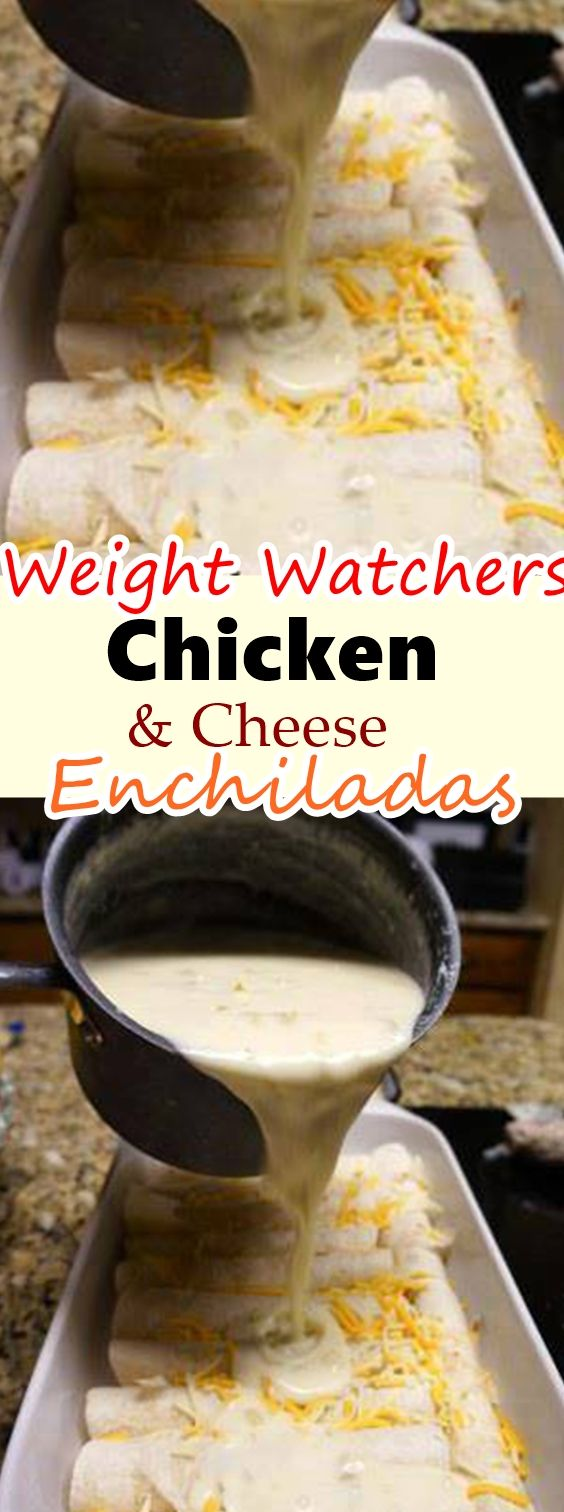 Chicken & Cheese Enchiladas with Green Chili images