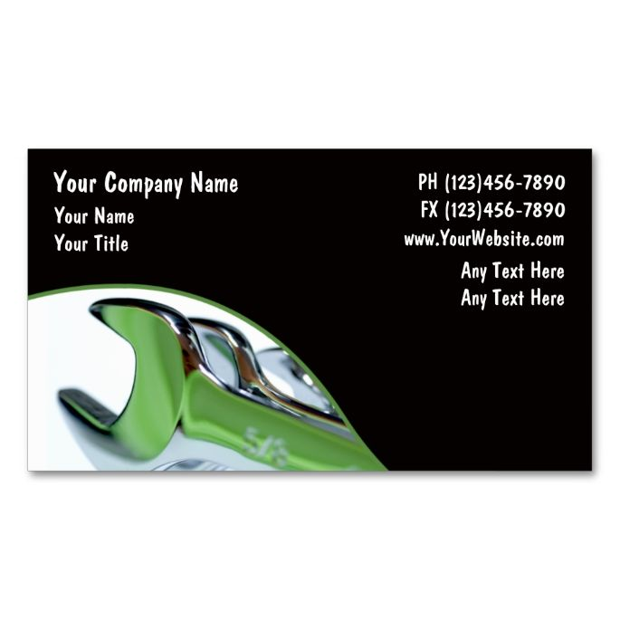 Automotive business card make your own business card with this automotive business card make your own business card with this great design all you reheart Image collections