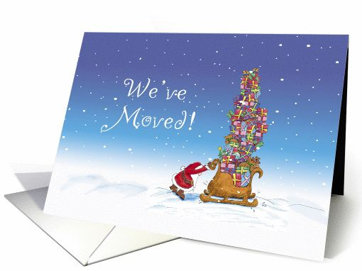 christmas we ve moved card holiday cards we fc and christmas cards