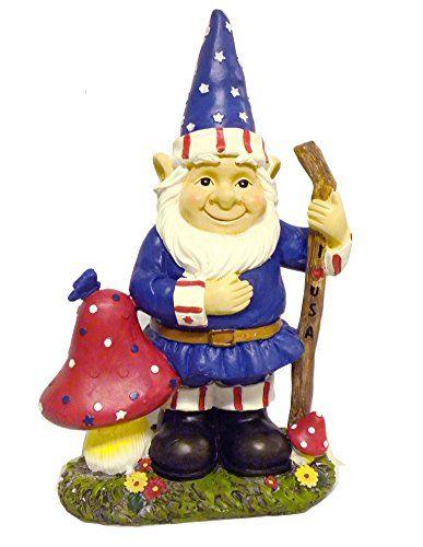 Statue · Gnome Patriotic Garden ...