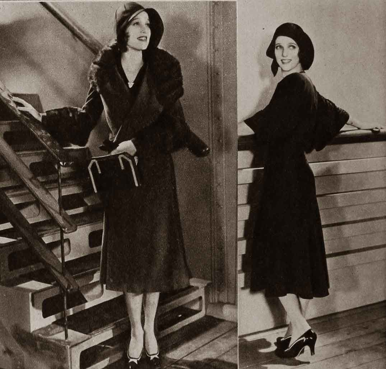 Autumn-Modes---Fall-Fashion-in-1930---Loretta-Young | 1930s Fashion ...