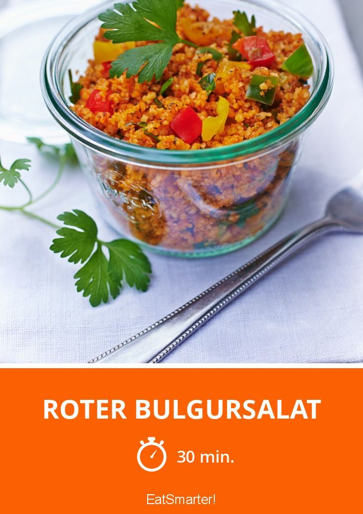 Photo of Red bulgur salad