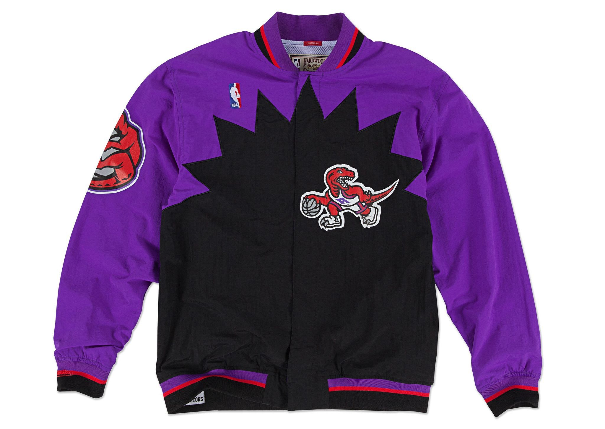 1995-96 Authentic Warm Up Jacket Toronto Raptors  3f03844e5e
