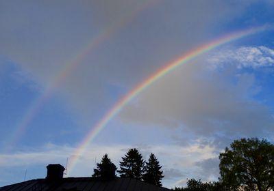 Double rainbows in Lappeenranta, Finland / liisa niiva-korpela