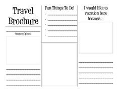 Make Your Own Travel Brochure For Any Country Layers Of Learning Travel Brochure Template Social Studies 6th Grade Social Studies