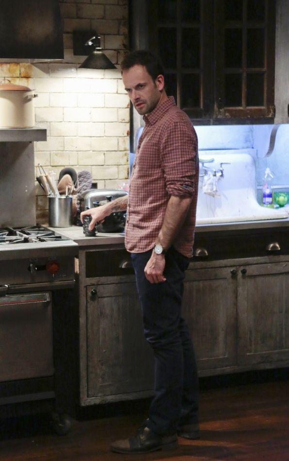 Sherlock In The Kitchen Elementary Tv Show Elementary Sherlock Elementary Tv