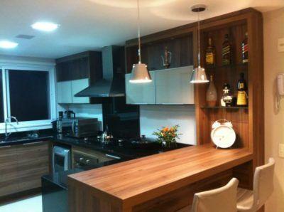 cozinhas em tom de madeira dicas
