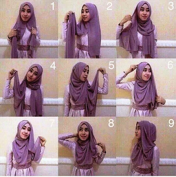2 Macam Tutorial Hijab Pashmina Simple Untuk Pesta How To Wear
