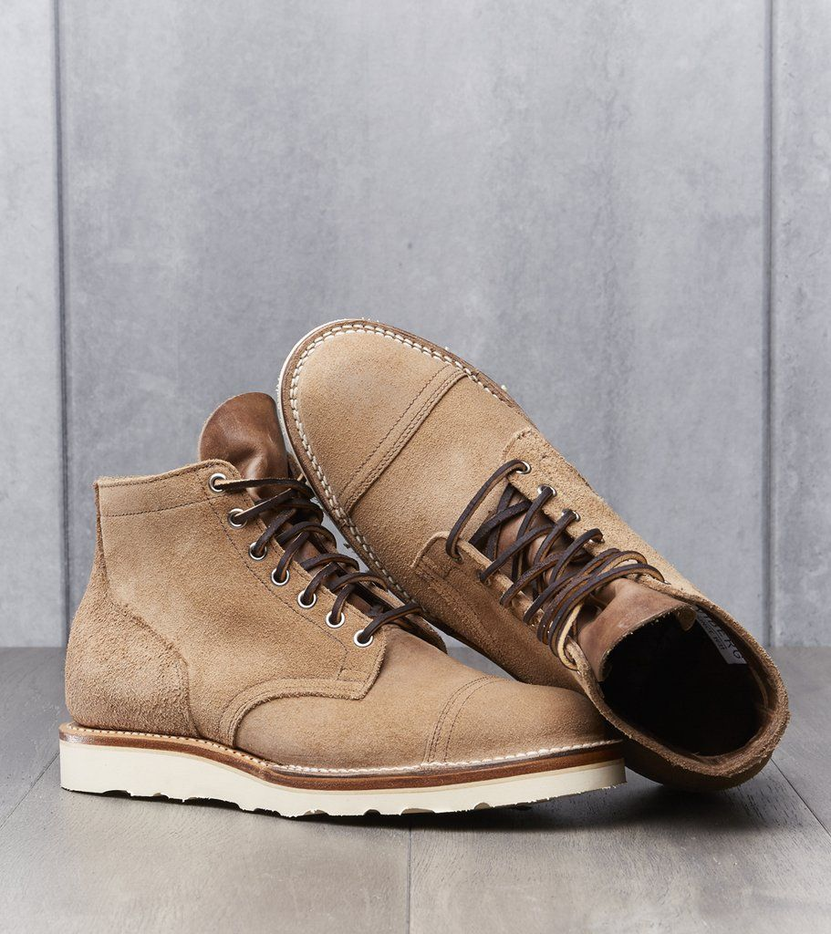 9a791eeff4e83 Viberg Service Boot - 2030 - Christy - Natural CXL Roughout Division Road