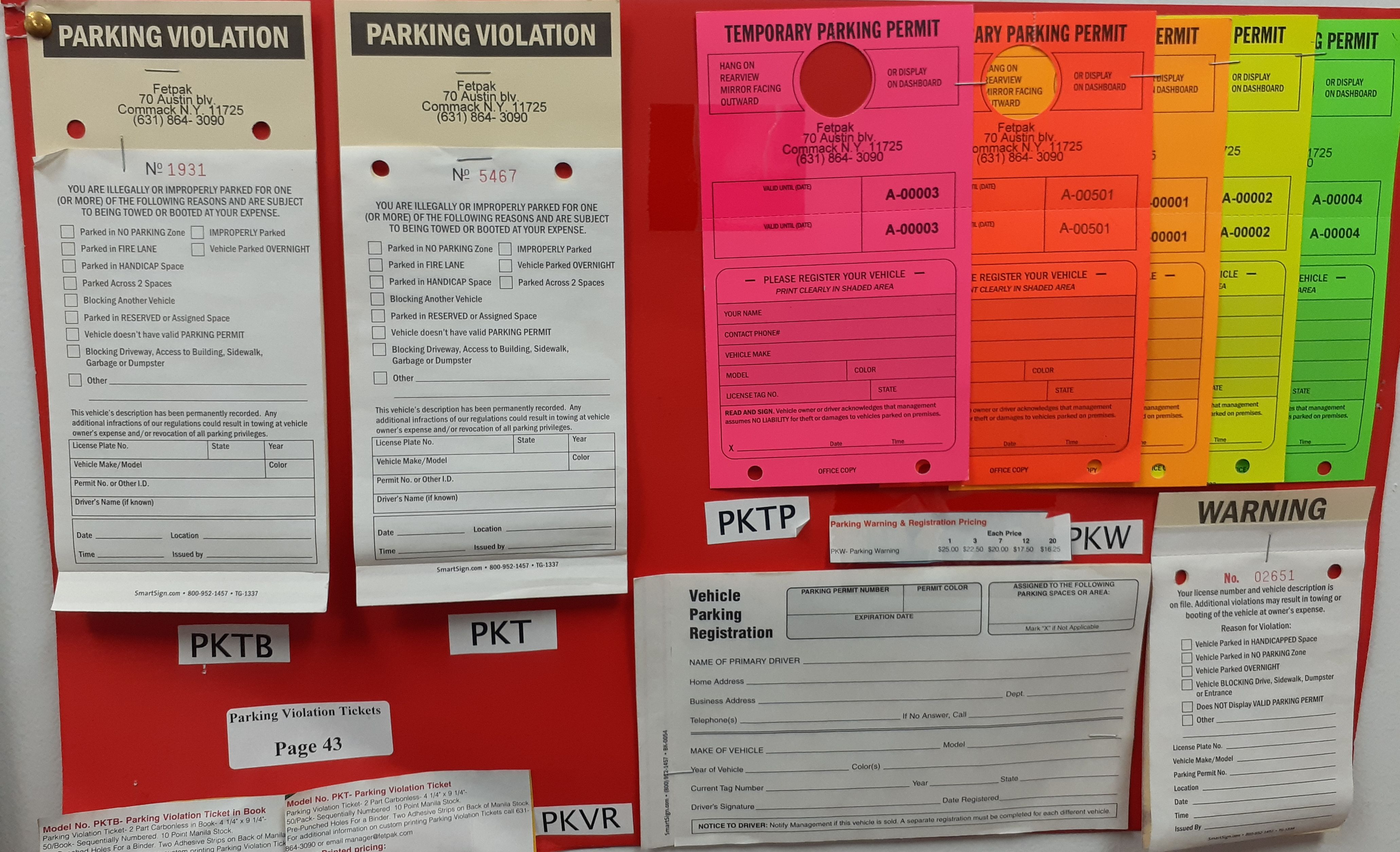 Parking Tickets Parking Warnings Temporary Permits Vehicle Registration All At Fetpak In 2020 Parking Tickets Ticket Violations