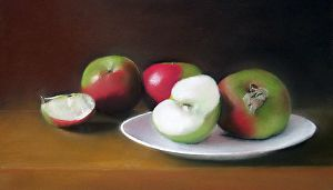 Any way you slice it by artist Andrew Bartos. A #pastel #artwork found on the FASO Daily Art Show -- http://dailyartshow.faso.com