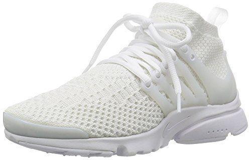 Nike Womens Air Presto Flyknit Ultra White White Running Shoe 7 5 Women Us Nike Damen Nike Schuhe Damen Turnschuhe