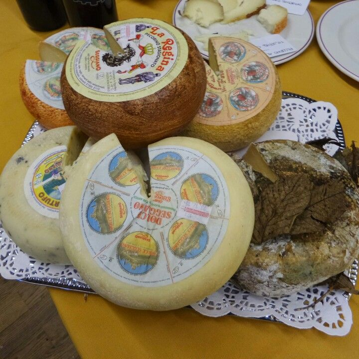 Cheese from Italy in the Baltics