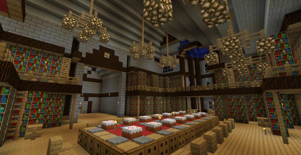 Minecraft castle interior | Minecraft ideas | Pinterest ...