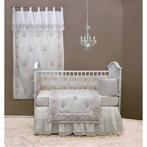 Tadpoles Indian Summer 4 Piece Embroidered Crib Bedding