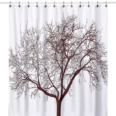 Tree Brown Fabric Shower Curtain I Use 2 Of These As Real