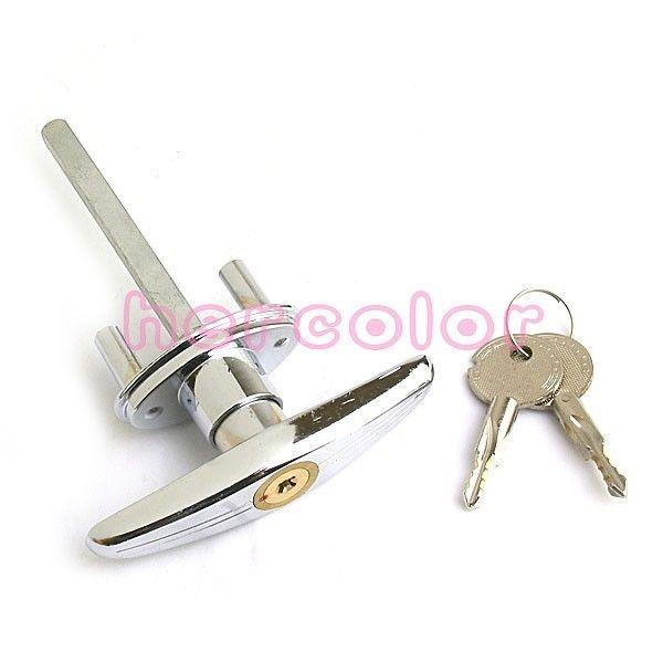 13 78 Aud Safe Garage Door Opener T Handle Lock With 2 Keys For